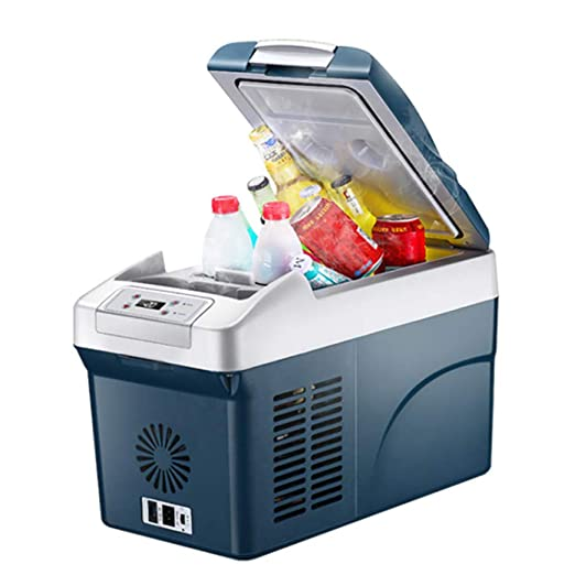 S-AIM Mini refrigerador portátil de 15 litros, congelador de ...