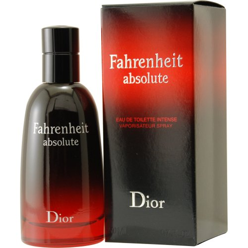 Fahrenheit Mens Discount Fragrance (Christian Dior Fahrenheit Absolute Intense Eau de Toilette Spray for Men, 1.7)