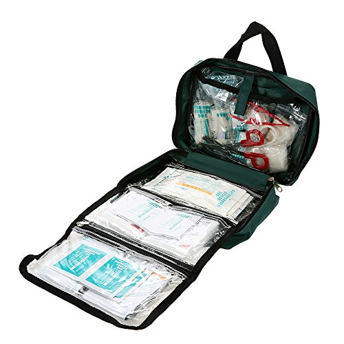 YUIOP Outdoor First Aid Kit,YUOP Travel First Aid Kit,All-purpose First Aid Kit,62Pcs,For Home, Office, Outdoors, Car, Camping, Travel, Survival, Workplace