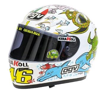 Amazon.com: AGV (Valentino Rossi - World Champion Valencia ...