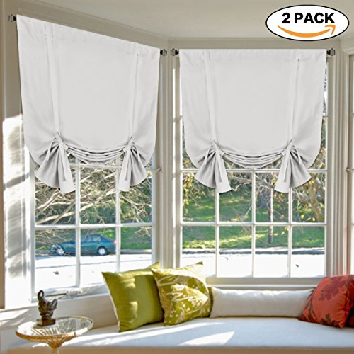 bedroom curtain 2 panels thermal