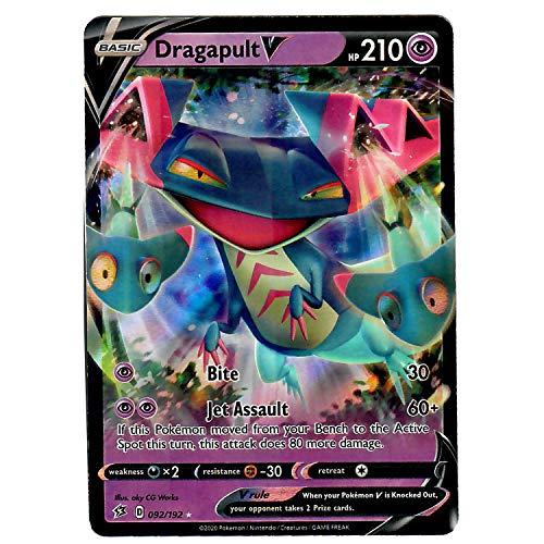Dragapult  92//192 Ultra Rare  NM Sword and Shield Rebel Clash Pokemon