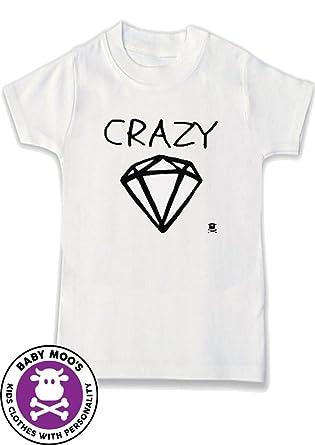 d8ad807b2e108 Crazy Diamond Rock n Roll T-Shirt for Boys or Girls