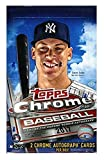 2017 Topps Chrome Baseball Hobby Box - 2 AUTOS PER BOX!
