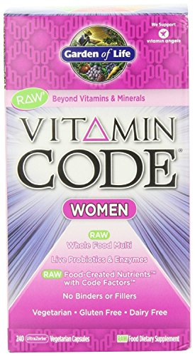 Garden of Life Vitamin Code Raw Women