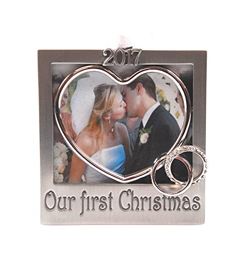 2017 Our First ChristmasTree Photo Ornament 3