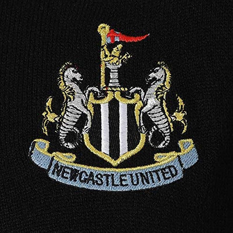 Newcastle United FC – męski sweter z dzianiny z okrągłym wycięciem pod szyją – oficjalny produkt – prezent dla fanÓw piłki nożnej: Odzież