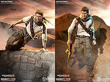 Sideshow Uncharted 3 Nathan Drake 1/6 Scale 12 Action Figure by Sideshow: Amazon.es: Juguetes y juegos