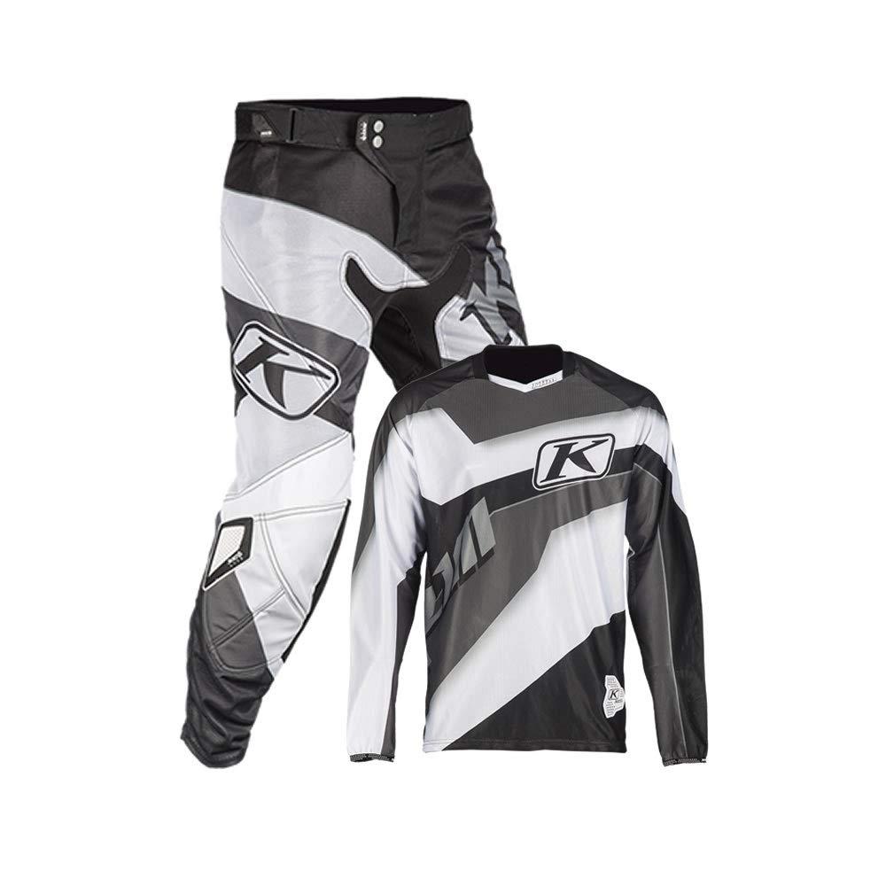 White KLIM XC Lite Pant 36 Black