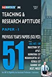 CBSE/SET Teaching & Research Aptitude [Paper I] | Previous Years Papers [Solved] Book | 51 Papers | 374 Pages
