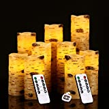 Flameless Candles With Brich Effect Battery Operated Candles 4