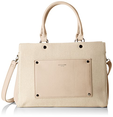 5727 5727 1 Handle Top Camel Bag 1 David Jones Women's Beige qwECffzHW
