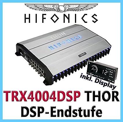 HIFONICS THOR TRX-4004DSP 4-Kanal