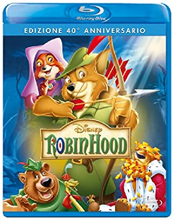 Amazon Com Robin Hood Se 40 Anniversario Blu Ray Italian Import
