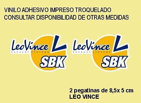 Fd386 Aufkleber Autocollants Stickers Moto Decals Motrocycle Ecoshirt CM-0AEX-8OGY Autocollants Stickers Sbk Leo Vince R/éf