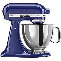 KitchenAid KSM150PSBU Artisan Series 5-Quart Tilt-Head Stand Mixer with Pouring Shield (Cobalt Blue)