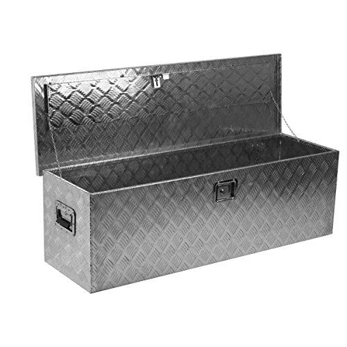 """Aluminum Pickup Truck 49"""" Flat Bed Tool Box Rv Camp Trail..."""