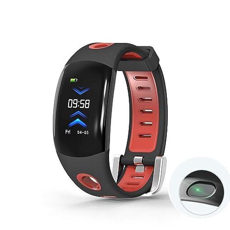 MRXUE Relojes Inteligentes Relojes Monitor de Ritmo cardíaco Impermeable para niños Mujeres Hombres podómetro Bluetooth para