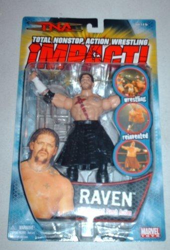Total Nonstop Action Wrestling Series I 6 Figure: Raven by Wrestling ()