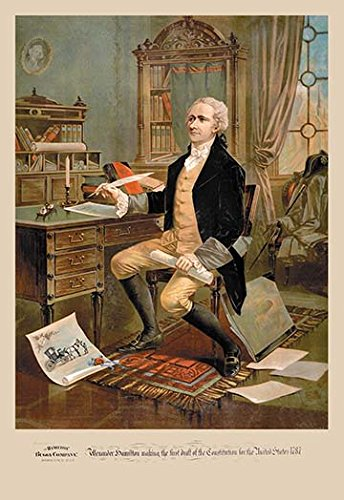 Buyenlarge 'Alexander Hamilton' Paper Poster, 20 by 30-Inch from Buyenlarge