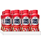Core Power by fairlife High Protein (26g) Milk Shake, Strawberry Banana, 11.5 fl oz bottles, 12 count