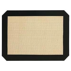 INMAKER Silicone Baking Mat Quarter Sheet Size 21.6cm x 29.2cm Non-Stick (1 Pack)