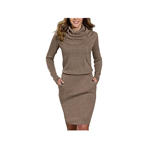 Koly_Delle signore delle donne pacchetto di Hip sottile del mini vestito matita