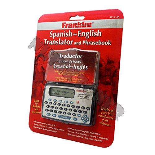 Franklin Spanish / English Electronic Travel Translator