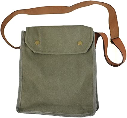 Amazon.com: Indiana Jones MK VII Gas Mask Bag Green Indy Props WWII: Clothing