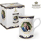 Royal Heritage - Designed in England LP18072 Commemorative Wedding Mug Gift, White