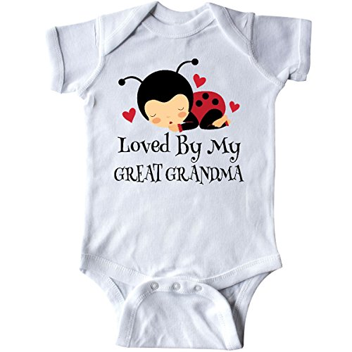 inktastic - Loved by My Great Grandma Infant Creeper 6 Months White 20ed5 ()