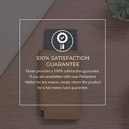 Ekster Parliament Slim Leather Wallet- RFID Blocking- Quick Card Access by Ekster (Image #5)
