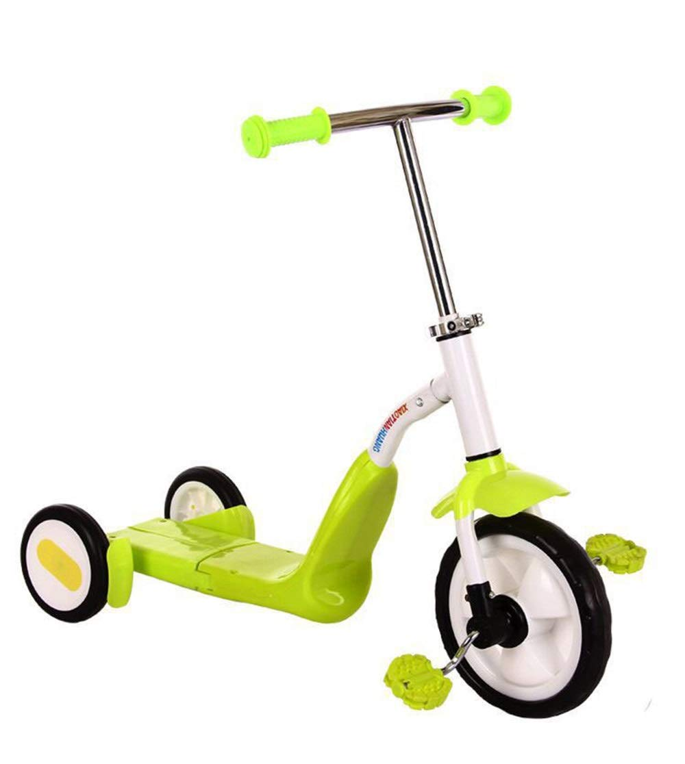 Meet now 赤ちゃんと子供のスクーター 品質保証、多機能スクーター、三輪スクーター、男性と女性に最適 品質保証 ( B07QVKK29V Color : : Green ) B07QVKK29V, サヤマシ:ff57e323 --- gallery-rugdoll.com