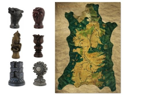Dark Horse Deluxe Game of Thrones Map and Marker Set by Dark Horse Deluxe