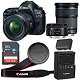Canon EOS 5D Mark IV 30.4 MP CMOS Digital SLR Camera with 3.2-Inch LCD with EF 24-105mm f/3.5-5.6 IS STM Lens and EF 50mm f/1.8 STM Lens - Wi-Fi Enabled (Certified Refurbished)