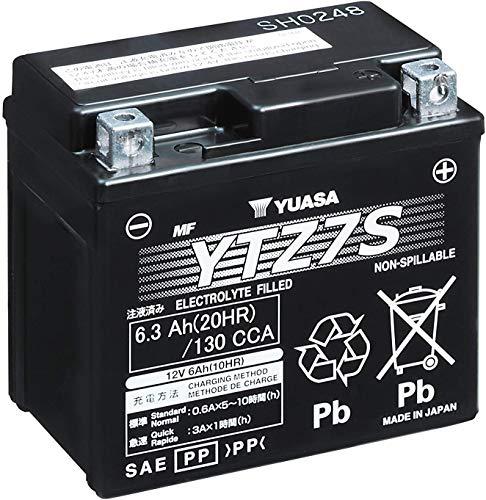 YUASA Batterij YTZ7S SLA AGM gesloten