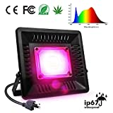 Cheap LED Grow Light Full Spectrum, 150W Relassy Waterproof COB LED Grow Light with Natural Heat Dissipation and Without Noise Perfect for Outdoor/Indoor Plants All Growing