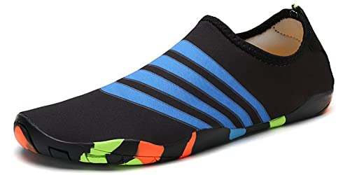 feb2b6dfbf84 Image Unavailable. Image not available for. Colour  Water Shoes Mens Womens  Kids Barefoot Quick Dry Sports Aqua Swim Shoes for Swimming Jogging Fitness