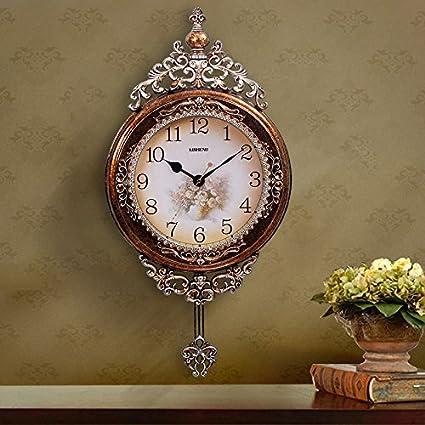 Hogar continental creativa salón grandes relojes antiguos