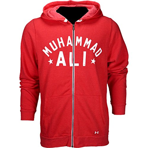 Under Armour X Roots of Fight Ali Full Zip Hoodie Red-White Medium