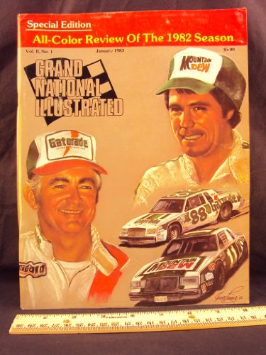 Nascar Winston Cup Champions (1983 January GRAND NATIONAL ILLUSTRATED Magazine (Features: Geoff Bodine win in 1982, NASCAR in the big apple, & Darrell Waltrip Winston Cup Champion))