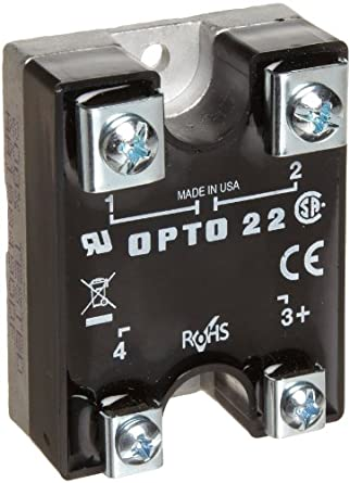 opto 22 380d45 dc control solid state relay 380 vac 45. Black Bedroom Furniture Sets. Home Design Ideas