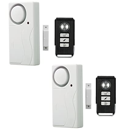 Amazon Wireless Anti Theft Monitor Remote Control Door And