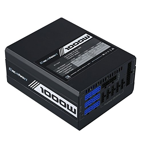 Excelvan ATX Computer Power Supply Desktop PC for Intel AMD PC SATA US (1000W) by Excelvan (Image #2)