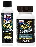 LUCAS OIL Gun Metal Polish 10878 & Extreme Duty Bore Solvent Cleaner 10907 4oz EACH