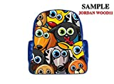 JIUDUIDODO Custom Father's Day Best Gifts Cool Steampunk PU Leather Multi-pocket School Bag Outdoor Bag Backpacks book Bags (Large)