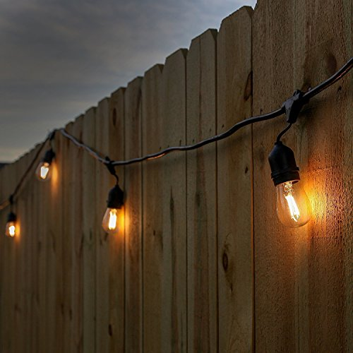 Brightech-Ambience-Pro-2nd-Gen-LED-Commercial-Grade-Outdoor-Light-Strand-1Watt-Bulbs-48-Feet-Wire-Weatherproof-Strand-for-Porch-Patio-and-Garden
