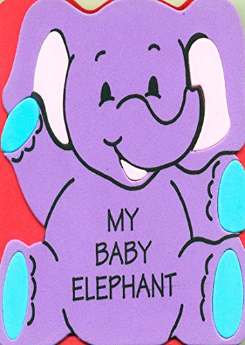 Foam Board Books - My Baby Elephant Foam Board Book (Animal Pal Books)
