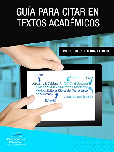 Guía para citar en textos académicos (Spanish Edition)