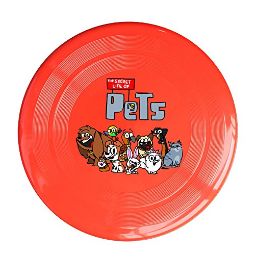 DETED Cute The Secret Life Of Pets Family Flying Disc - Red
